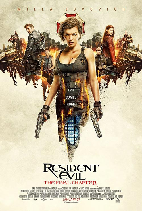 Resident Evil- The Final Chapter (2016) อวสานผีชีวะ